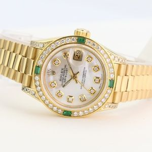 Rolex Watch Datejust 26mm 69178 18k President Gold